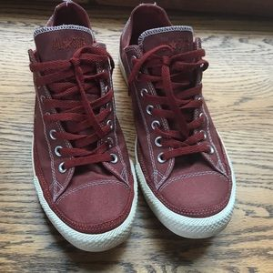 MENS RED CONVERSE